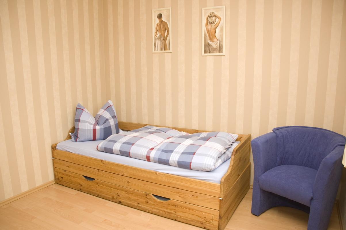 Schlafraum - Einzelbett
