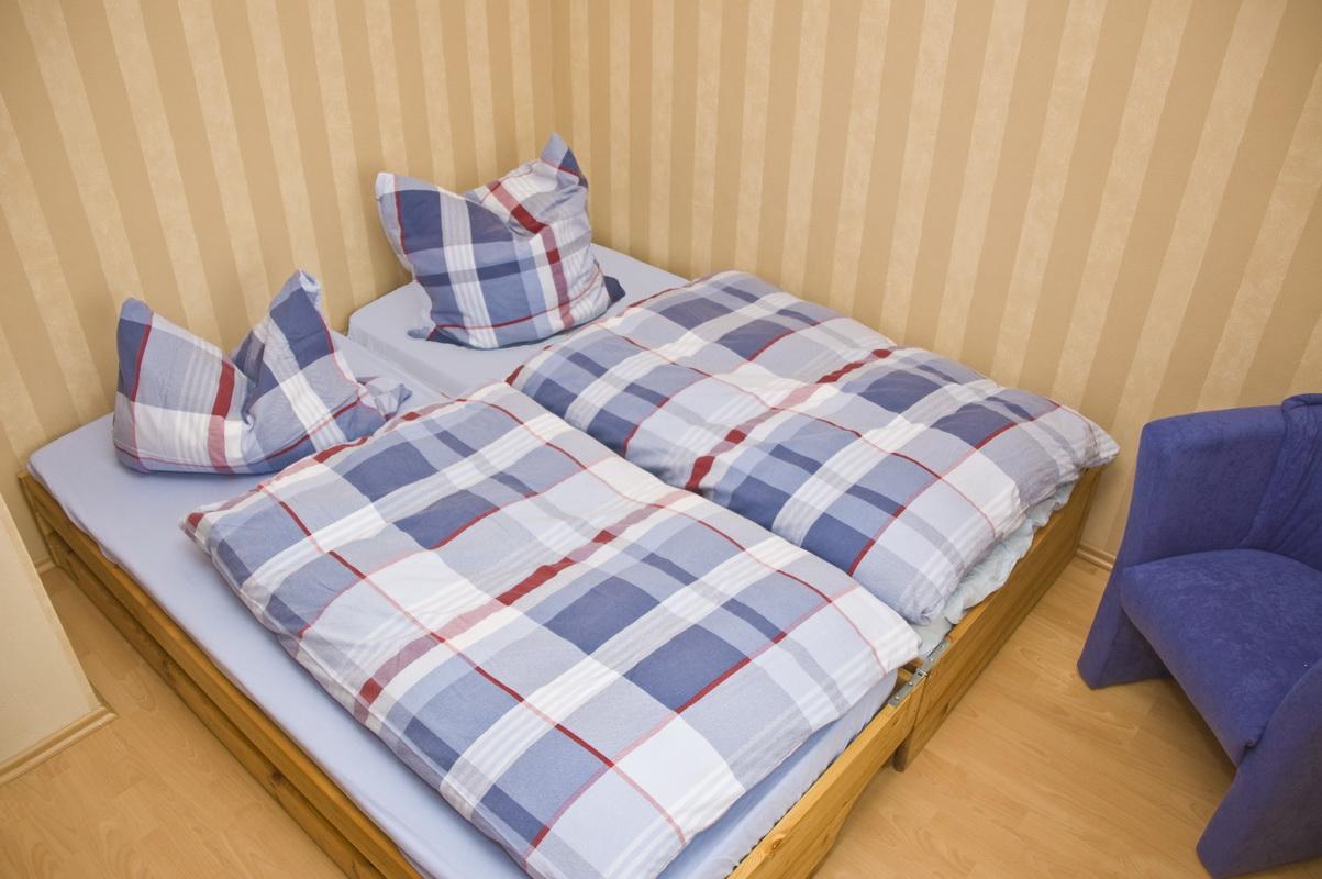 Schlafraum - Doppelbett