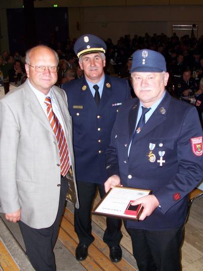 40 Jahre aktiver Dienst bei der Feuerwehr
