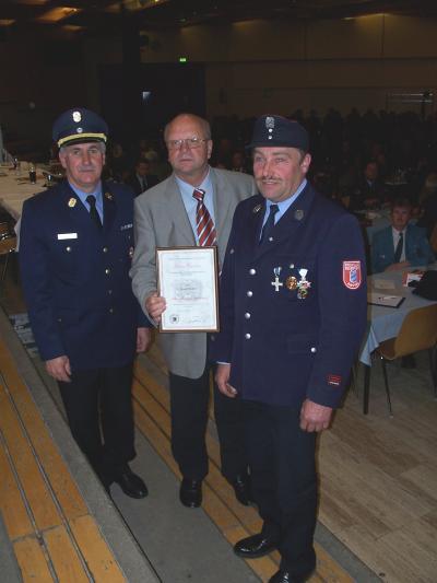 40 Jahre Feuerwehrdienst