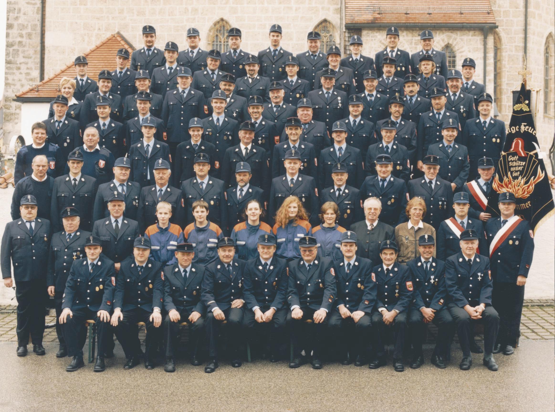 Feuerwehrverein im Jahr 2002