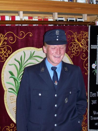 1. Fähnrich Huber Thomas, Roitwalchen