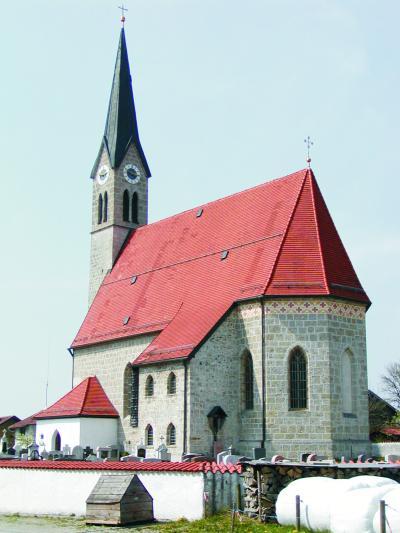 Katholische Pfarrkirche Johannes der Täufer in Kammer