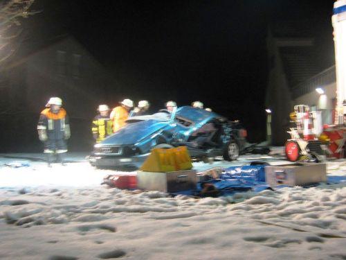 Foto: Freiwillige Feuerwehr bei einer Einsatzvorbereitung