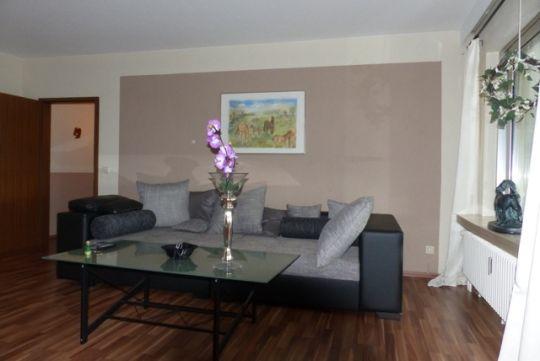 Wohnzimmer Couchlandschaft  FeWo Beate Nitz