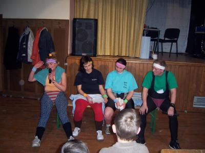 Frauensportgruppe Karin,Ines,Sandra und Reike