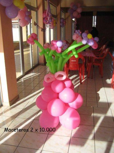 Fiesta entrete kids decoraciones con globos for Decoracion de techos en draibol