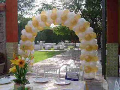 Fiesta entrete kids decoraciones con globos for Decoracion con fotos en pared