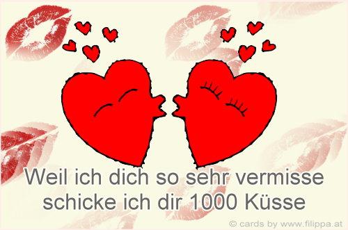 Tausend Küsse Für Dich Bilder Hylenmaddawardscom