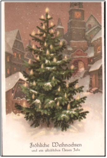 Nostalgische Weihnachtsmotive.Filippa Grusskarten Und Mehr