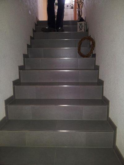 Fliesen platten mosaik natur kunststeinverlegung - Treppe fliesen mit schiene anleitung ...