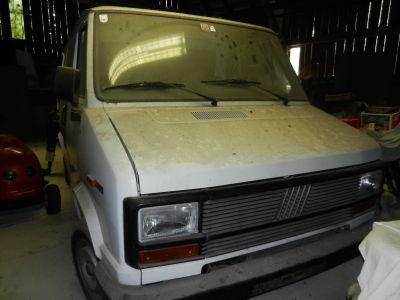 oldtimer auto fiat ducato 280 kastenwagen