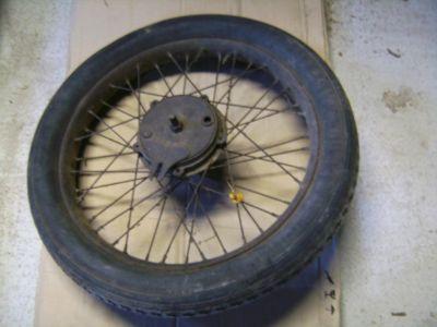 oldtimer motorrad ersatzteile teile rad räder 27x3,85