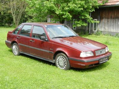 oldtimer auto volvo 440 anhängevorrichtung