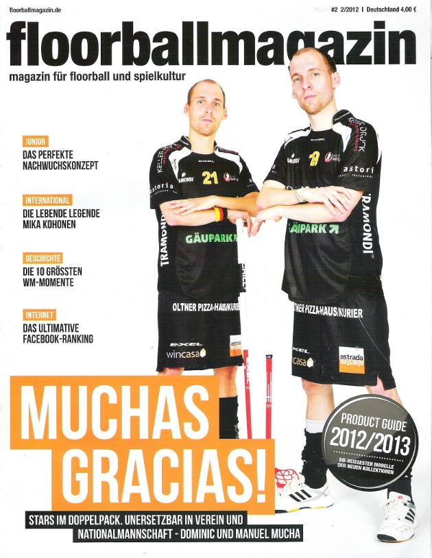 Bild: 2. Ausgabe Floorballmagazin