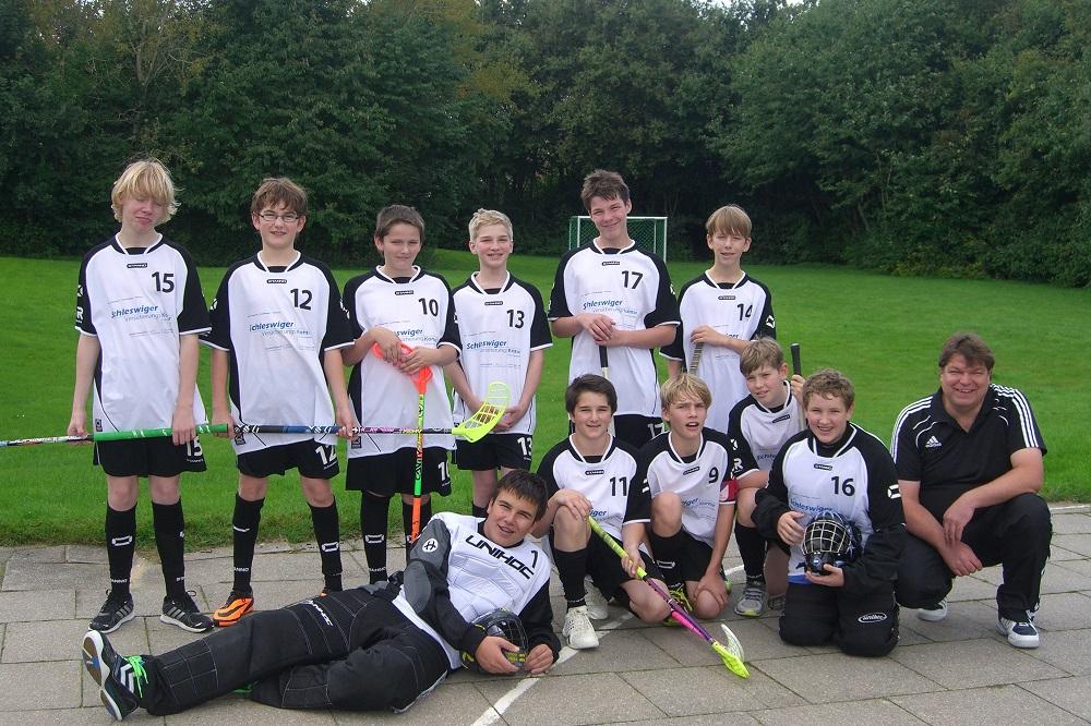 Bild: U15 Team Saison 2013/2014