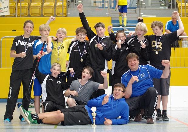 Bild: U15 Meister Saison 2012/2013