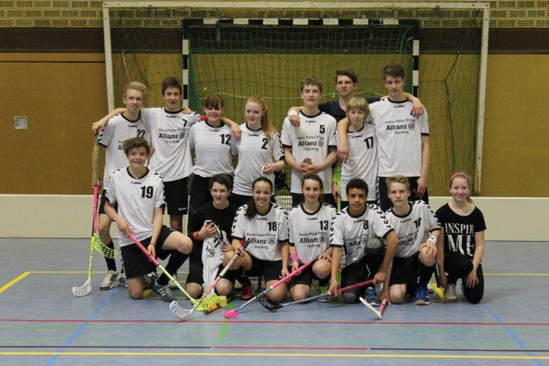 Bild: U17 Großfeldteam Saison 2013/2014