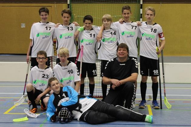 Bild: U17 KF Team 2014/2015