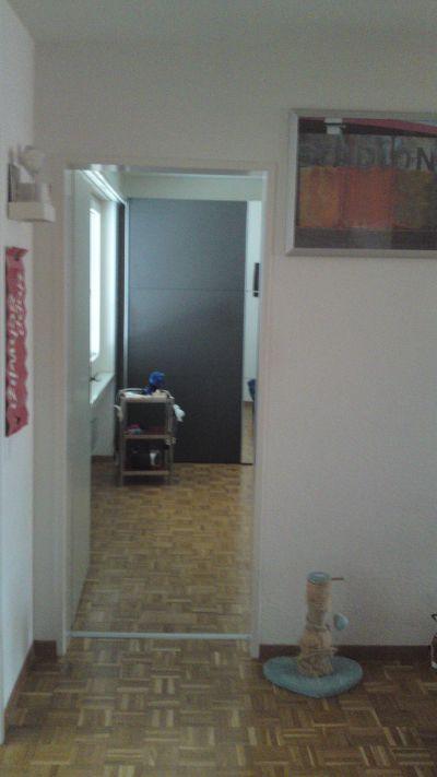 Wohnung; Entrée, Schlafzimmer