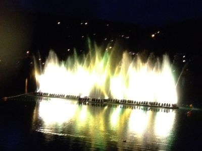 Arosa, Wasserspiel