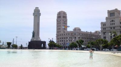 Santa Cruz de Tenerife; Plaza de España