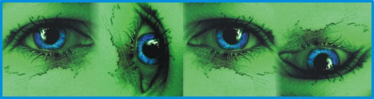 oczy blue