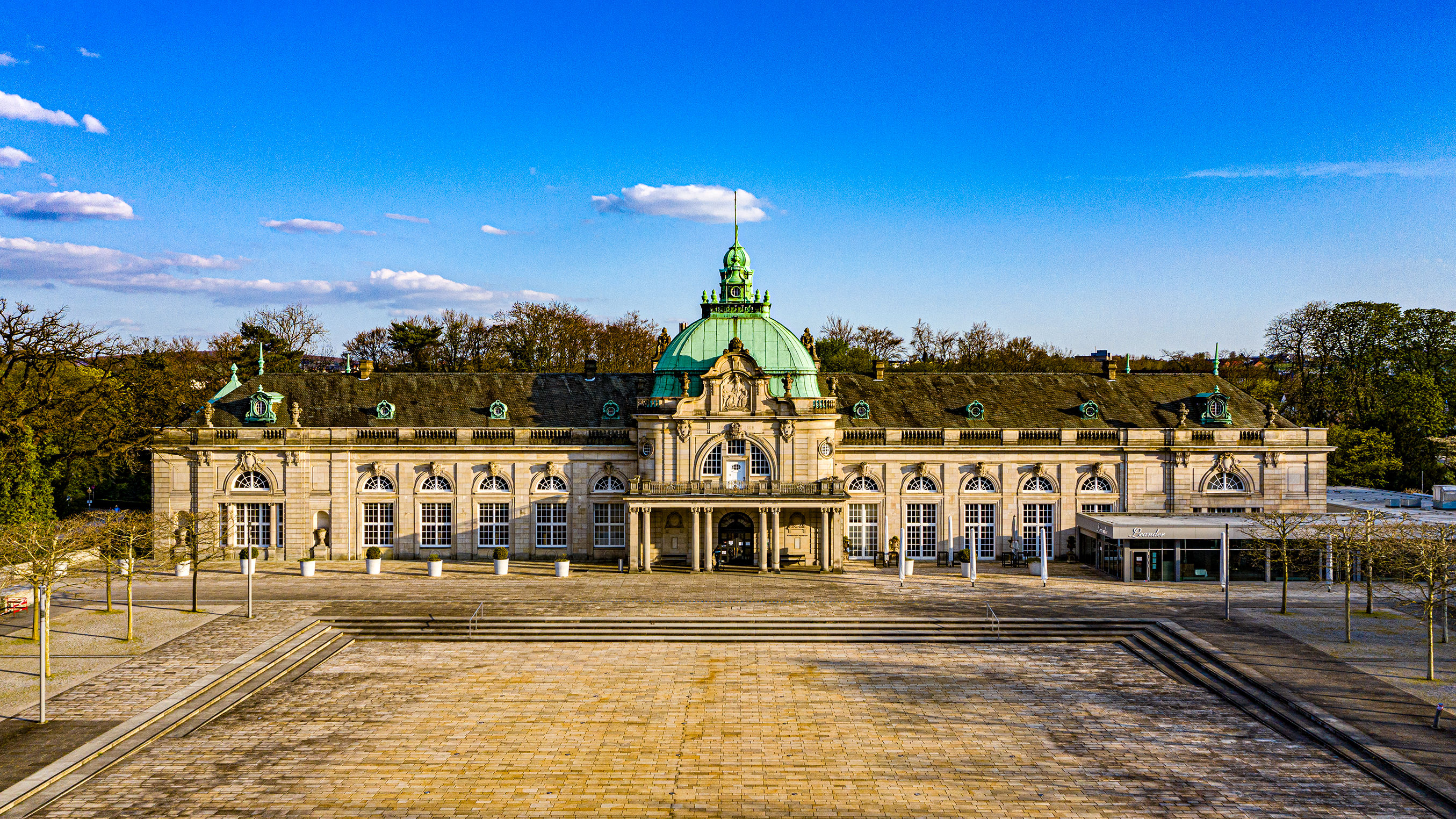 Kaiserpalais, GOP, Adiamo, Kurpark, Bad Oeynhausen, Drohnen Luftaufnahmen, Dj Team Herford, Fotobox Herford, Sebastian Bader