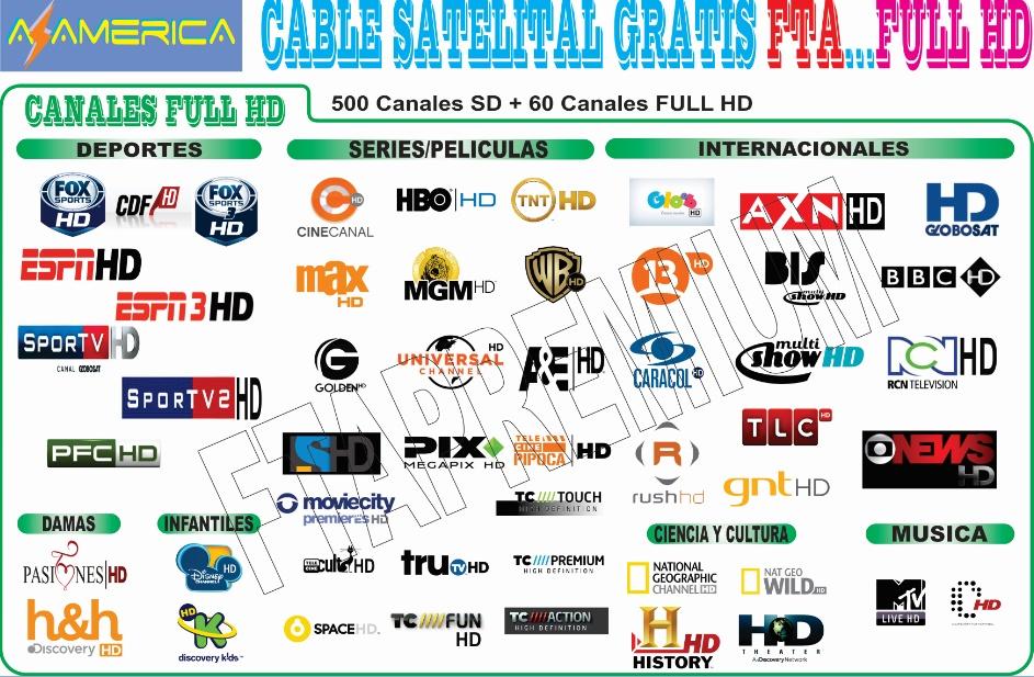 tv satelital gratis full hd