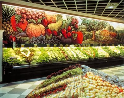 Fullprintargentina decoracion for Decoracion de supermercados
