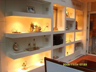 Construcciones contemporaneas durlock for Armado de muebles de cocina