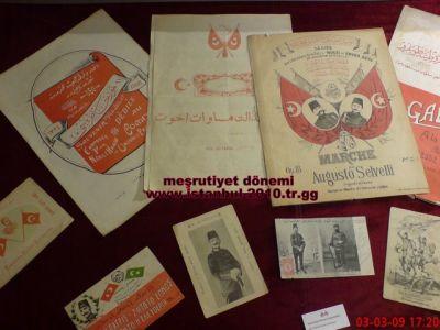 mesrutiyet kartpostallari