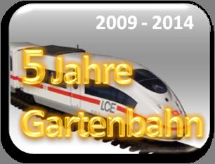 5 Jahre Gartenbahn