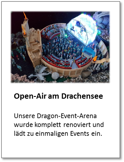 Dragon Event Arena, Open-Air pur