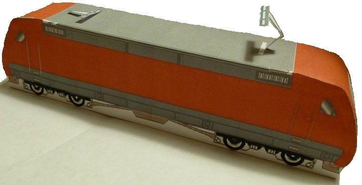 Bastelbogen Baureihe 101