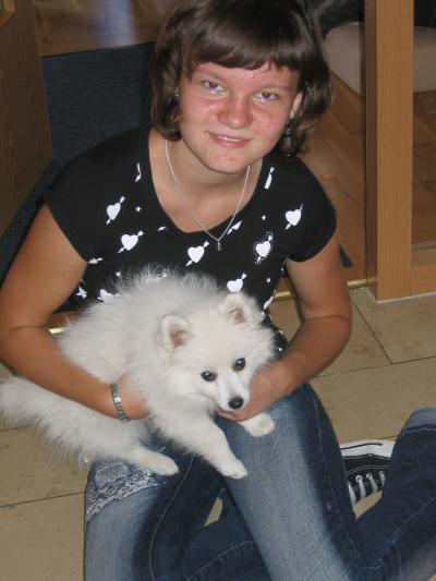 Steffi mit Kira