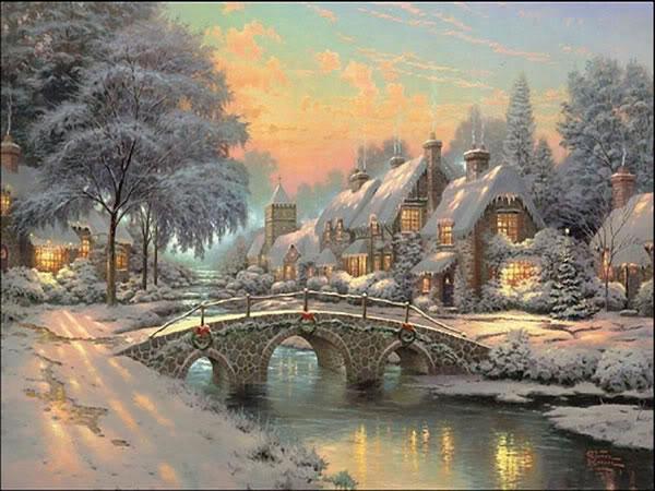 Weihnachtsbilder landschaften