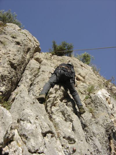 Nusrat Köyü kaya tırmanışı