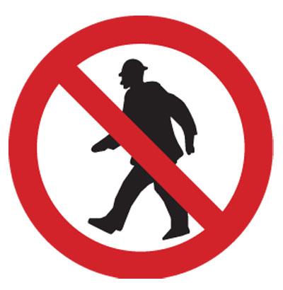 Proibida circulação