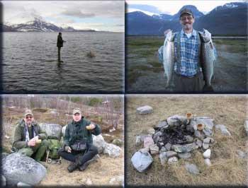 Fliegenfischen in Skibotn im Storfjord