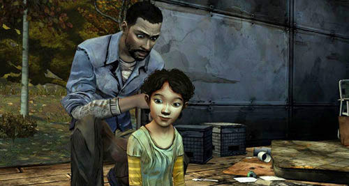 Walking Dead, Clementine, game, oyun