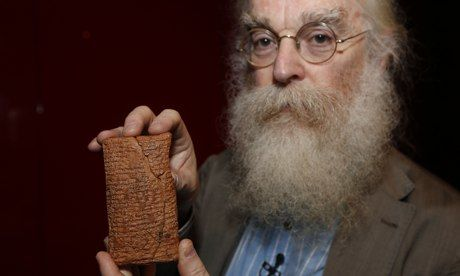 Dr. Irving Finkel, Babil tablet