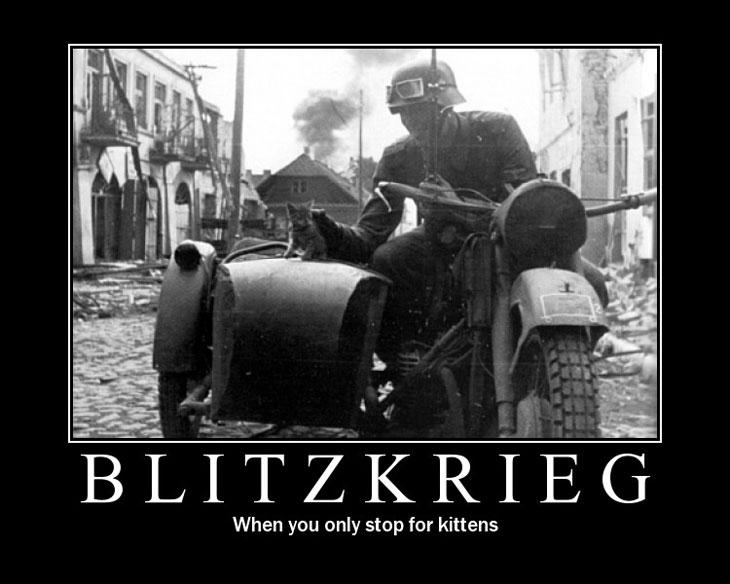 "Blitzkrieg ""The Lightning War"""