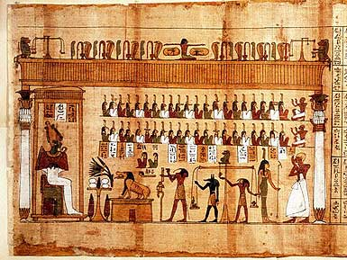 Ölüler Kitabı, Egyptian Book of the Dead