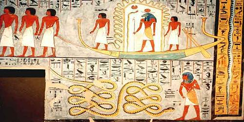 500x250 Book of Gates Ramesses I