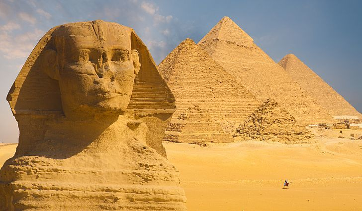 Giza Sfenksi, Great Sphinx of Giza