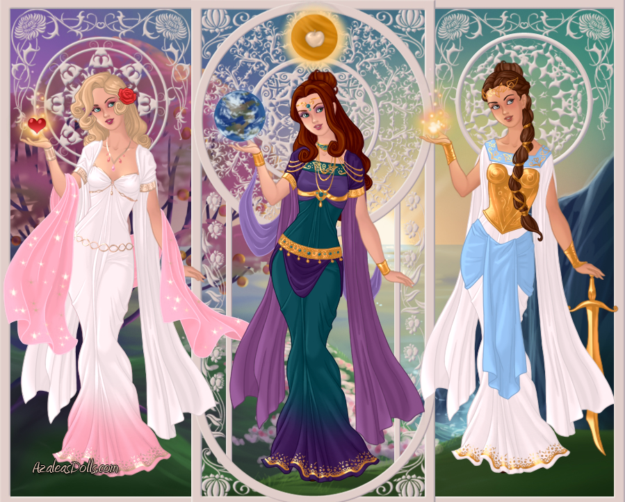 Paris, Aphrodite, Athena, Hera, Apple