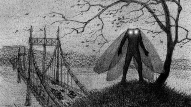 güve adam, mothman