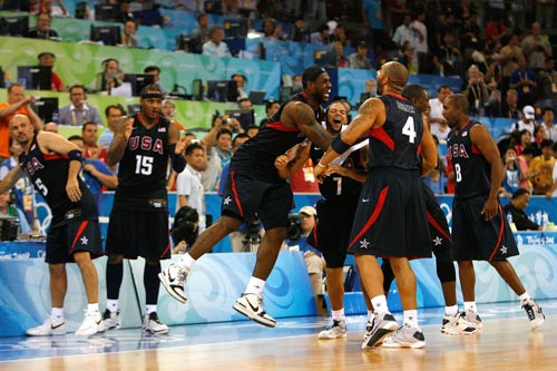 Team USA Beats Spain for Men's Basketball Gold
