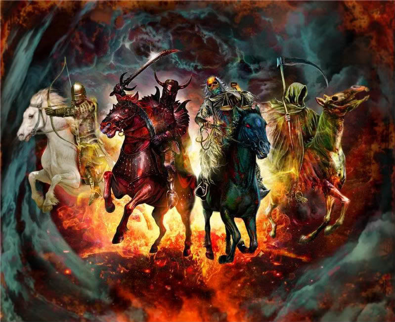mahşerin dört atlısı, Four Horsemen of the Apocalypse